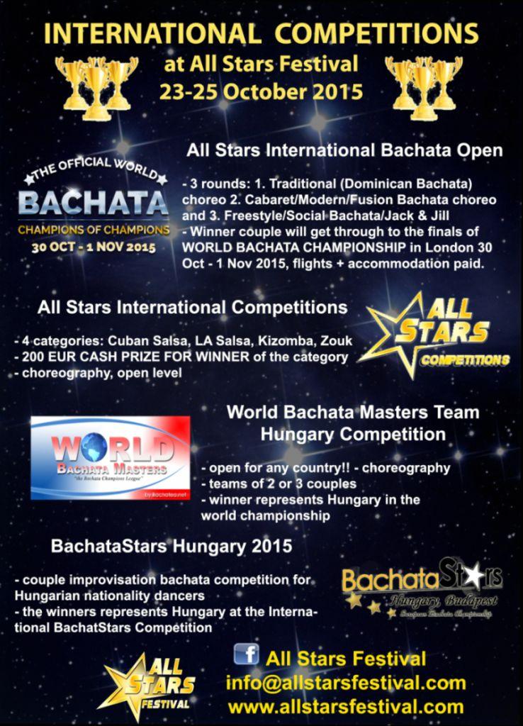 All Stars Festival versenyek