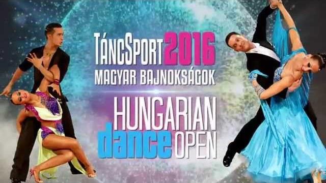 TáncSport Magyar Bajnokságok és Hungarian Dance Open 2016