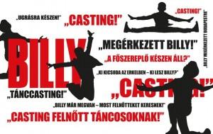 Táncos casting