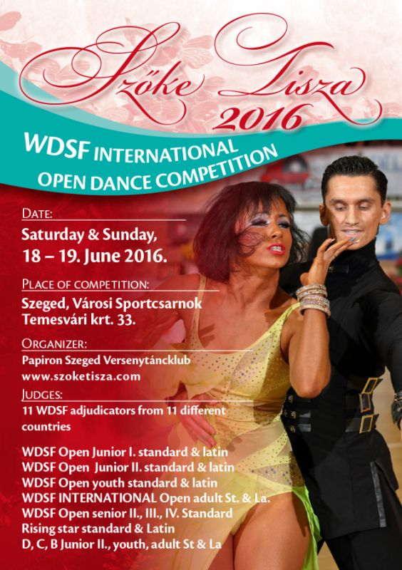 Szőke Tisza 2016 WDSF International Open