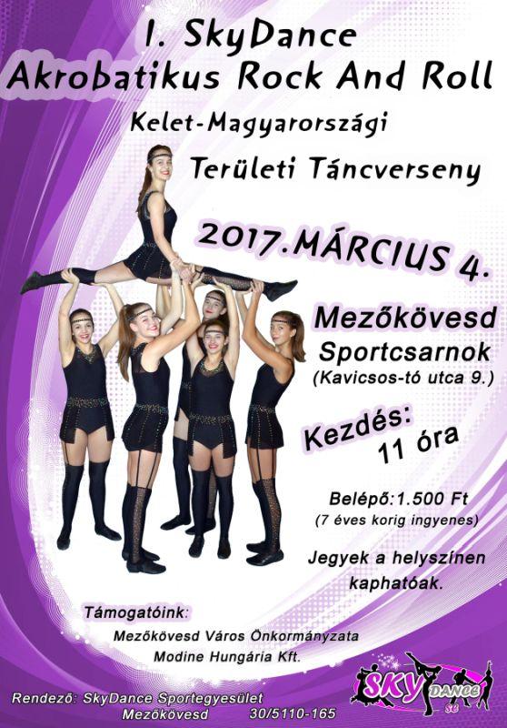 I. Skydance Akrobatikus Rock and Roll Kelet-Magyarországi Területi Táncverseny