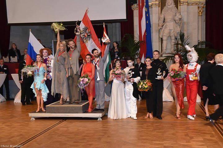 Köcse György és Pandur Petra - WDSF Profi Latin Showdance Világbajnokság 2017