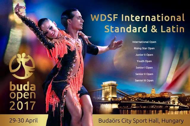 Buda Open 2017 - WDSF Nemzetközi Táncverseny