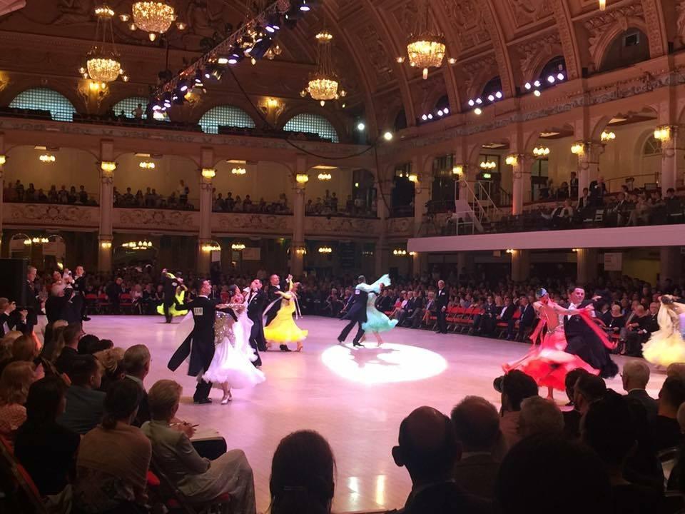 Kemény Tamás és Princz Nóra 1. hely - Senior Standard táncok, Blackpool 2017